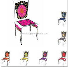 Slap-up acrylic silk screen dining chair made in china