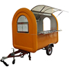 Pizza Ice Cream Machines Mobile Shop Food Trailer Kiosk Cart for Sale Street Vending Carts