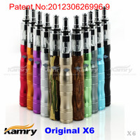 New invention kamry x6 vaporizer,latest kamry x6 mod kit e-cigarette with lowest price