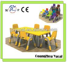 sala de estar de colores de plástico silla de muebles