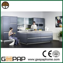 geat job grey Lacquer mdf kitchen cabinet doors