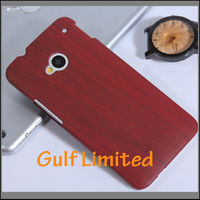 High Quality wooden skin case for HTC one M7 phone case