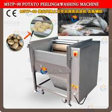 2015 MSTP-80 Automatic Potato/Carrot/Taro/Fish Washing Peeling Machine