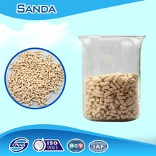 Molecular sieve adsorber has high mass transfer efficiency and durability