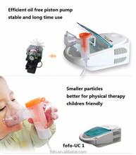 Médica nebulizador compresor / nebulizador de uso doméstico máquinas FOUC-1