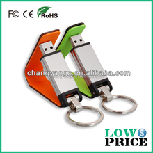 2015 High-end leather 64gb usb flash drive 3.0 /usb 3.0 flash drive wholesale alibaba express with keyring