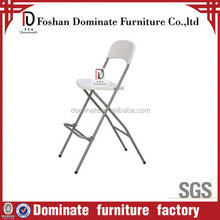 Most popular hot-sale plastic folding table with high legs