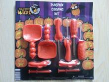 10pcs Halloween pumpkin carving kit