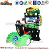 Qingfeng coin operated electric engine go kart racing machine to manufacture