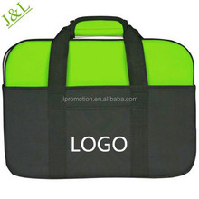 600 denier polyester Compact Laptop Messenger Bags with Velcro closure Compatible with laptops