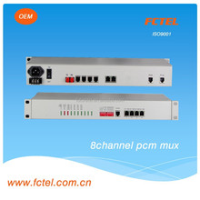 desktop,1550nm,120km,supply dual power,4/8 ch fxs fxo with 4*100/1000M Lan extender,voice modem,Pcm multiplexer