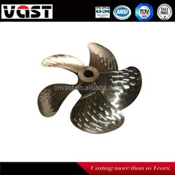 High Speed Wear-resistant 5 Blades Bronze Ship Propeller for Sale