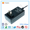 ac dc adapter 12v 2a 24w power supply ac adapter with European plug TUV GS CE approval