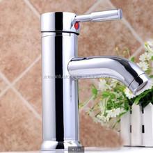 Popular Chrome Finish Brass One Hole Single Handle Kitchen Bar Sink Faucet
