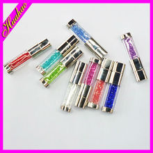 2014 New arrival crystal pen usb, gadget custom usb pen, OEM new design crystal usb pen drive