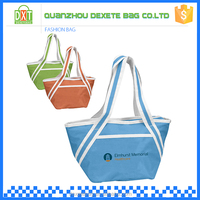 New type top sale portable insulated waterproof lady tote lunch box bag