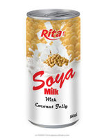 Soy Milk With Coconut Jelly