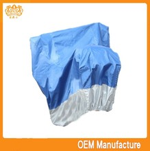 double colour 190t heat resistant silicone handle cover motorcycle,oxford material motorcycle cover at factory price
