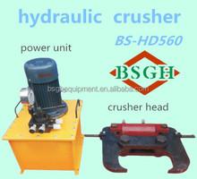 BSGH hydraulic concrete stone cutting machine BS-HD560 stone dividing tools