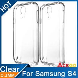 0.3mm Ultra thin Soft TPU Case For Samsung Galaxy S4