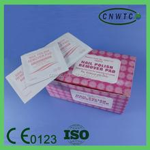 acetone free cotton nail polish remover pad