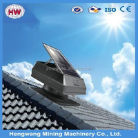 Solar powered ventilation for house
