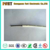 Silicone rubber single conductor stranded tinned copper insulated wire