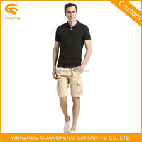 Custom Cotton Polyester Blend Blank Polo Shirt
