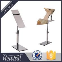 Shoe display,Metal display stand,Shoe store display racks