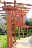 engineered outside plastic structural WPC beams