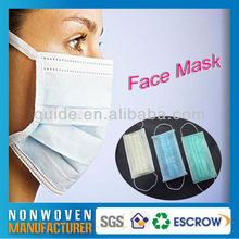 Leather Weld Mask Factory Nonwoven Face Mask
