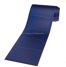 High Temperature and Low Light Performance flexible solar cell roll panel