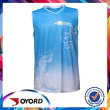 sports quick dry factory supply oem design custom basketball tops