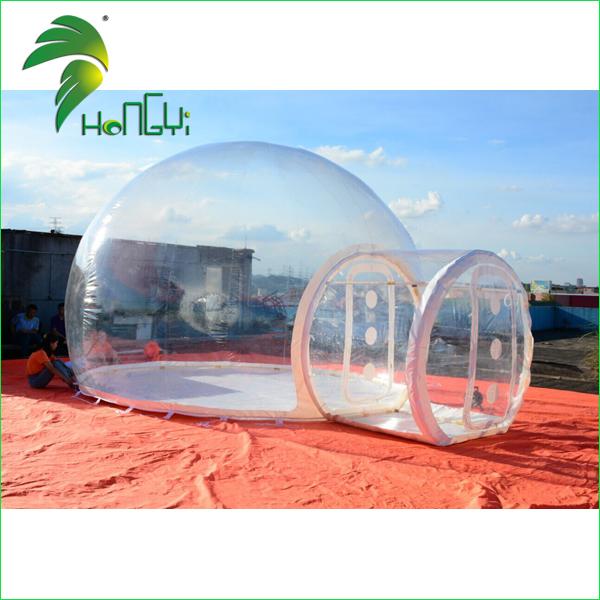 Transparent inflatable bubble tent (1)