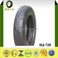 3 wheel motorcycle tires DEJI high quality tubeless motorcycle tire 80/90-17