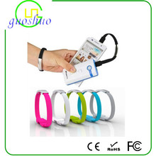 hot-selling mini usb cable colorful bracelet usb line popular between young people