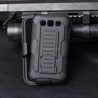 2015 New Design Future armor holster case for samsung galaxy win i8550,for samsung galaxy win i8550 case