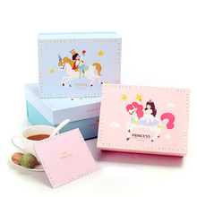 Wholesale Paper Printed Package Of Cake For Baby Gift Box And Birthday Box