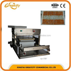 WY-558 fully functional mutton/beef/chicken automatic kebab skewer machine