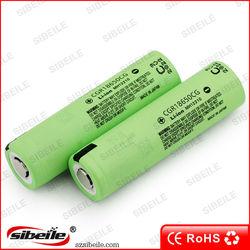 cgr battery 18650 3.6v led flashlight 18650 batterie