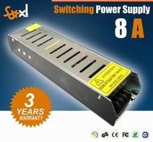 Hot selling Single output voltage 120w 12v ac/dc switching power supply