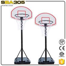 deluxe adjustable basketball backboard system