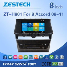 "ZESTECH 7"" touch screen car dvd players for Honda Accord"