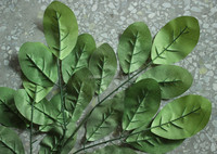 fake leaf indoor/outdoor factory director sale artificial leaf branch