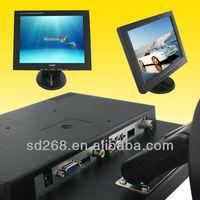 China 12 inch cctv lcd monitor / 12v mini computer monitor