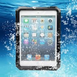 Protective Ultra Slim Waterproof Case Snow Dust Proof Cover For iPad Mini & 2 Retina 3 Black