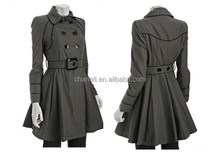 women fashion new design trench coat,lady latest new arrival coat,woman fashion garment