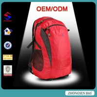 Backpack with earphone outlet New style mult-color hiking backpack