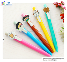 2015 promotional hot selling customized lovely touched pen