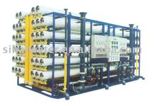100T/H ultra filtration system water treatment , drinking water for food ,beverage and agriculture